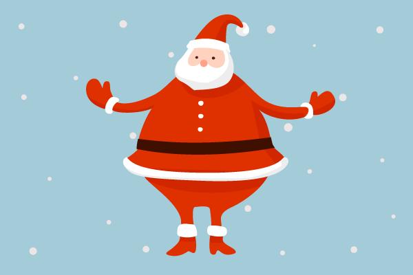 santa claus christmas tree decorating ideas