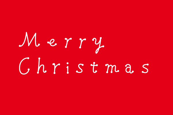 Merry Christmasフォント \u2013 EVENTs Design