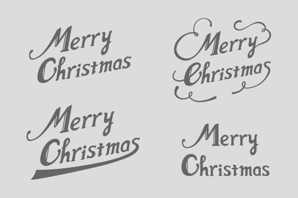 メリークリスマスロゴ